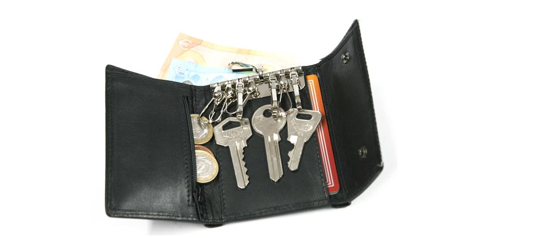 Llavero billetero monedero cerrado - Solohombre