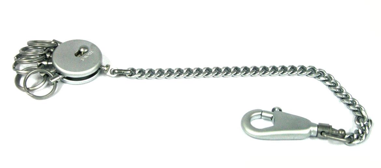 Llavero con cadena para enganchar en la trebilla del pantalón - comprar online precio 29€ euros