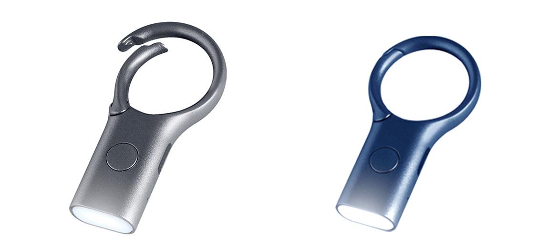 Llavero con luz de led de carga por USB - comprar online precio 20€ euros