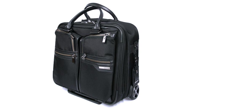 Maleta Trolley de trabajo nylon y piel marca Samsonite - comprar online precio 399€ euros
