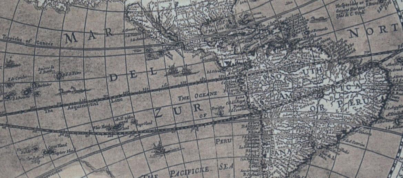 Mapa mundi envejecido para colgar en tu despacho o casa - Solohombre