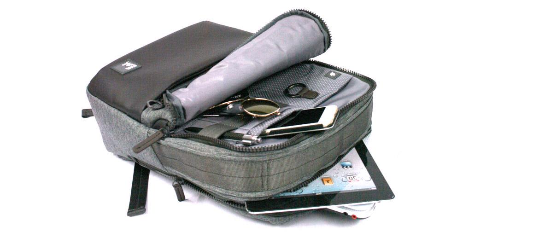 Mochila de trabajo para portátil de 15,6'' color gris marca Nava Design - comprar online precio 110€ euros