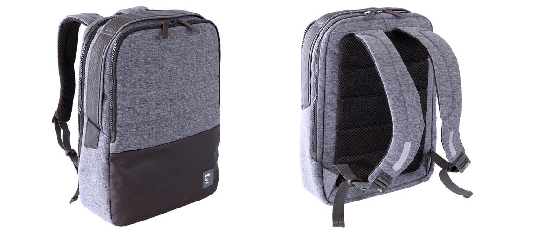 Mochila de trabajo color gris para portátil de 15,6'' marca Nava Design - comprar online precio 118€ euros