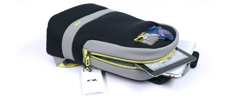 Mochila para portátil 15,6 pulgadas con bolsillo RFID marca Nava Design - comprar online precio 99€ euros