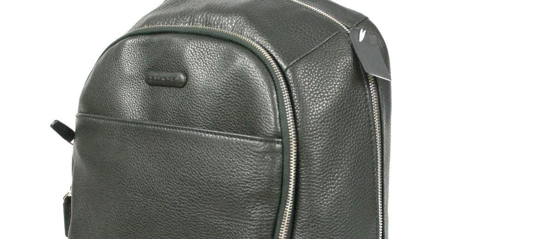 Mochila hombre de piel para portátil - Comprar online precio 270€ euros - 13 pulgadas, marca Piquadro