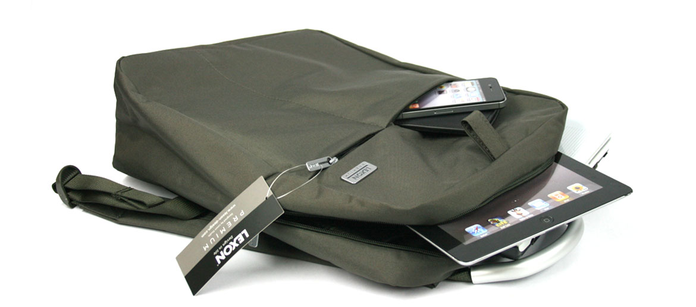 Mochila informal para portátil color gris verdoso - comprar online precio 55€ euros