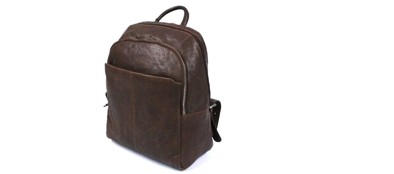 Mochila hombre en piel estilo vintage - Comprar Online Precio 149€ euros
