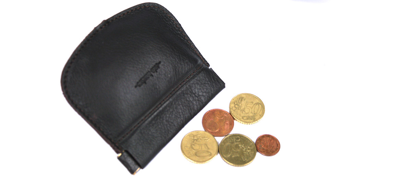 Monedero de fleje con anilla para llaves marca Solohombre - comprar online precio 20€ euros