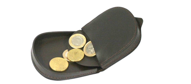 Monedero porta monedas modelo tacón de piel marca El Potro - comprar online precio 24€ euros