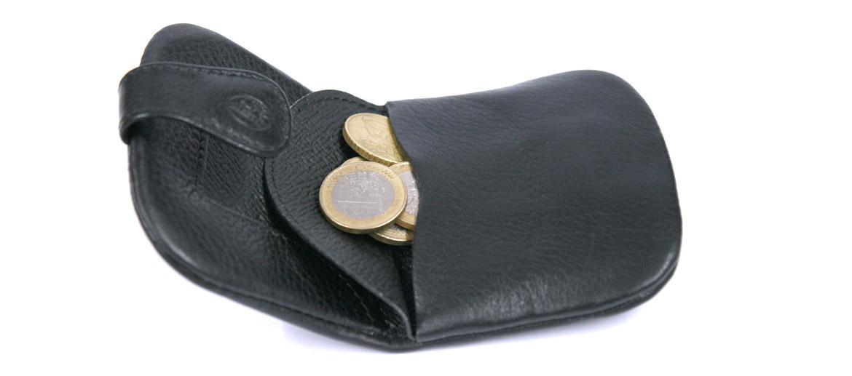 Monedero porta monedas de piel blanda marca El Potro - comprar online precio 35€ euros