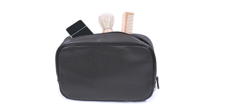 Neceser bolsa de aseo en piel - comprar online precio 45€ euros