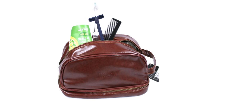 Neceser bolsa de aseo con bolsillo en la base - comprar online precio 36€ euros