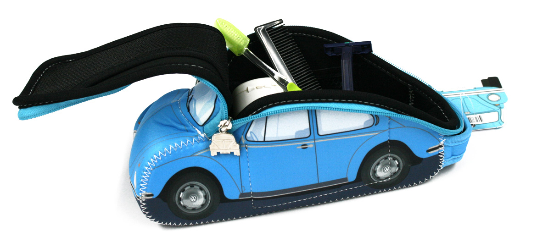 Neceser bolsa de aseo con forma de coche Volskwagen - Solohombre