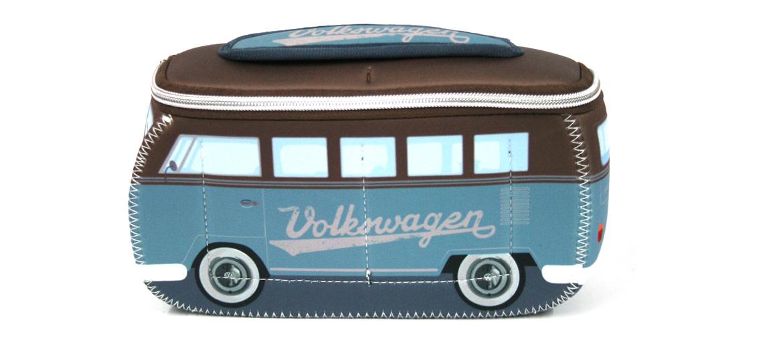 Neceser joven y divertido con forma autobus Volkwagen - comprar online precio 25€ euros