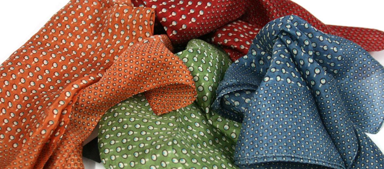 Pañuelo seda natural hombre bolsillo y cuello - Comprar Precio 16€ euros