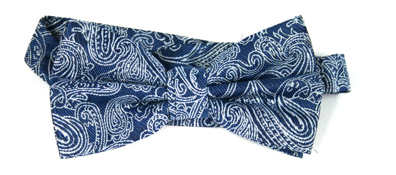 Pajarita de seda dibujo cachemire - comprar online precio 29€ euros