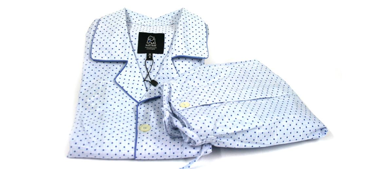 Pijama de algodón de motas para el verano - comprar online precio 60€ euros