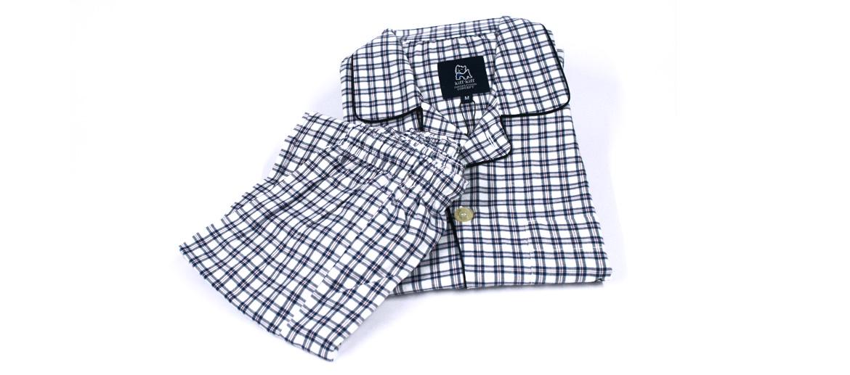 Pijama de cuadros para el invierno - comprar online precio 69€ euros