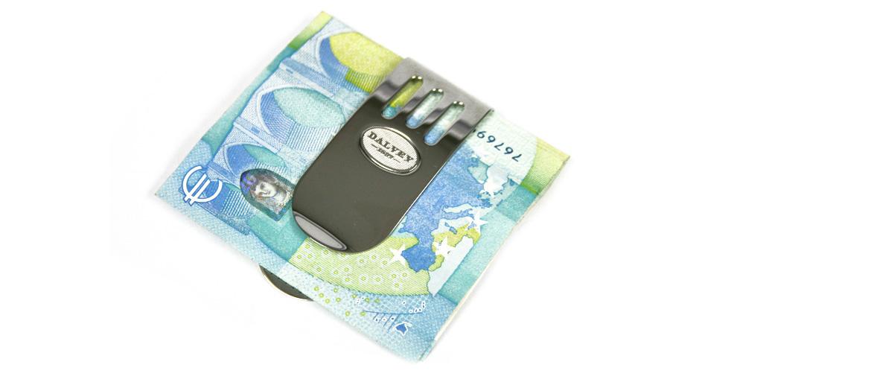Pinza metálica para billetes - Comprar online Precio 35€ - Regalos Hombre
