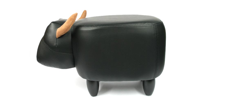 Puff banqueta para los pies con forma de toro - comprar online precio 110€ euros