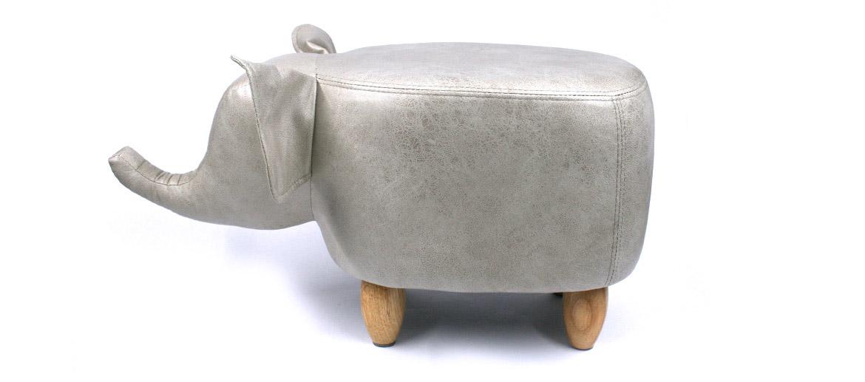 Puff para apoyar los pies con forma de elefante - comprar online precio 115€ euros