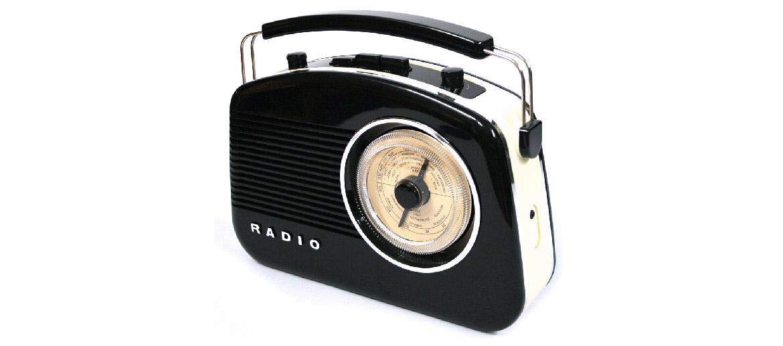 Radio AM-FM estilo retro con altavoz y conexión por bluetooth para tu casa o despacho - comprar online precio 105€ euros