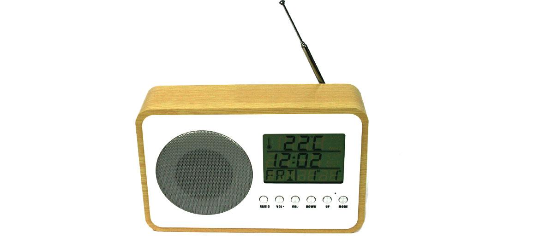 Radio reloj despertador minimalista - comprar online precio 38€ euros