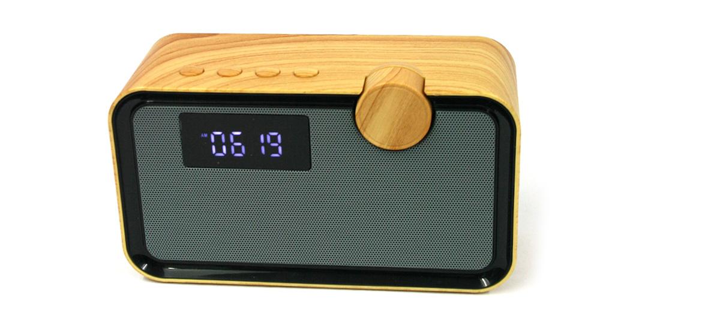 Radio despertador altavoz para oír tu música por bluethooth - comprar online precio 65€ euros