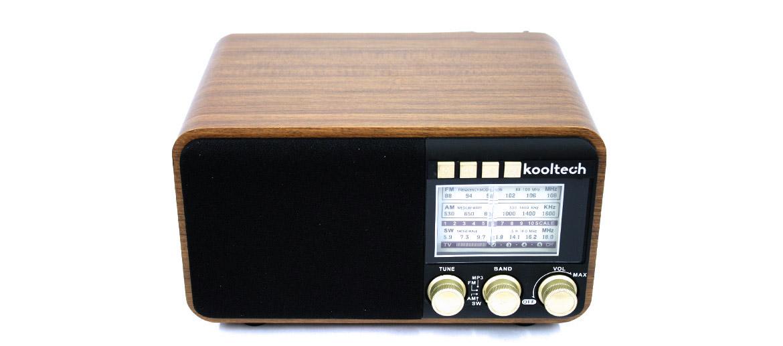 Radio FM/AM/SW  replica antigua con conexión USB - comprar online precio 65€ euros