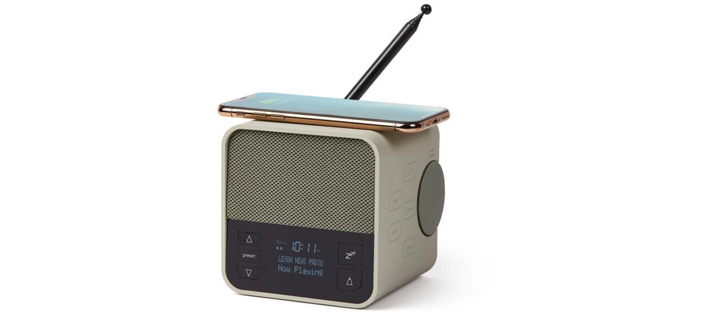 Radio, reloj despertador, altavoz y carga inalámbrica ¡Genial! - comprar online precio 99€ euros