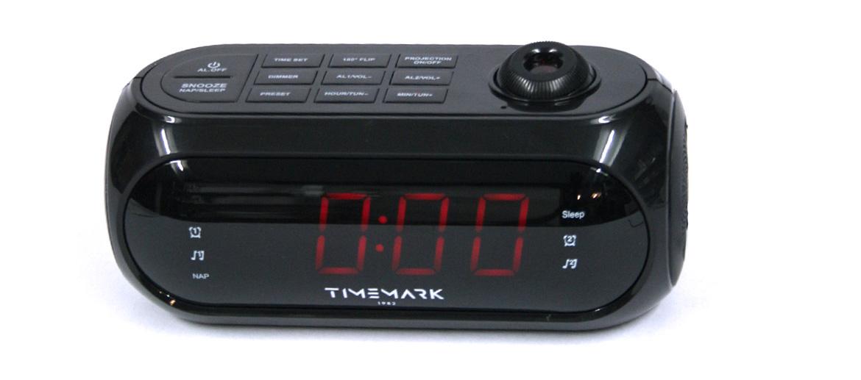 Radio reloj despertador con proyector de la hora - comprar online precio 35€ euros