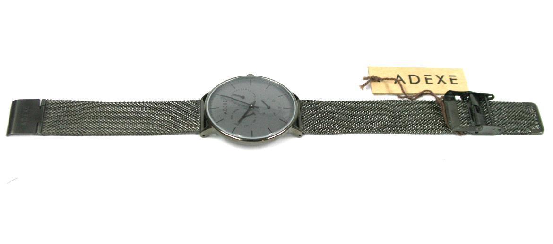 Reloj de pulsera gris con correa de malla - comprar online precio 120€ euros