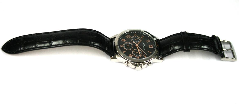 Reloj de pulsera color negro y oro rosa - comprar online precio 260€ euros