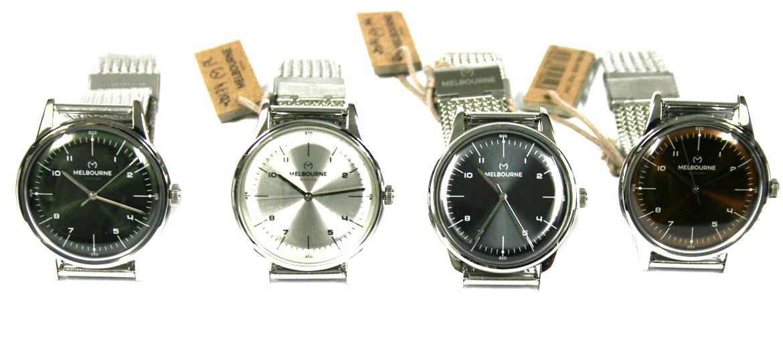 Reloj de pulsera con correa de malla  marca Melbourne - comprar online precio 119€ euros