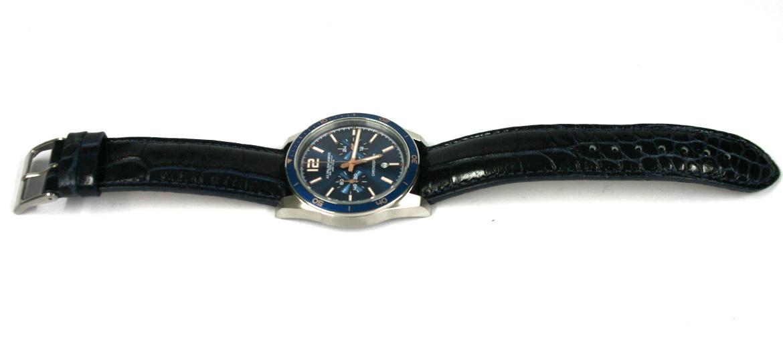 85dde35e6fe2 Detalles. Reloj de pulsera cronografo con esfera azul marca Spalding Bros - comprar  online precio 270€ euros