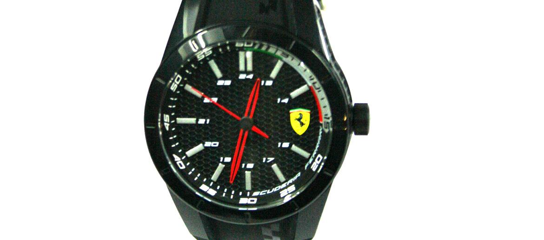 Reloj de pulsera deportivo de la marca Ferrari color negro - comprar online precio 125€ euros