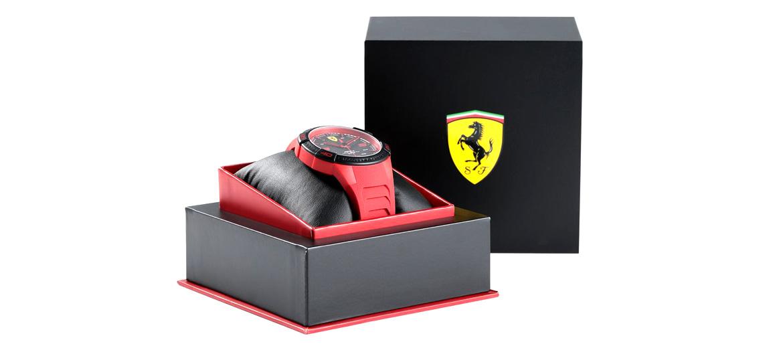 Reloj de pulsera marca Ferrari color rojo - comprar online precio 100€ euros