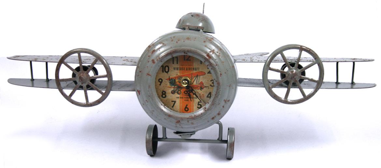 Reloj de sobremesa con forma de avioneta - comprar online precio 40€ euros