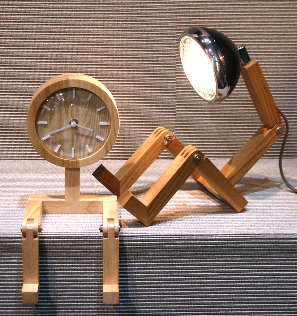 Reloj de sobremesa para despacho o casa con forma de hombre - comprar online precio 75€ euros