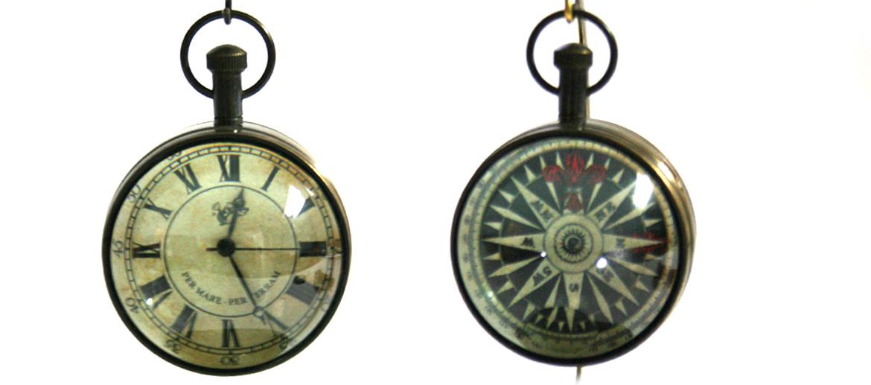 Reloj de sobremesa pequeño con peana replica antigua - comprar online precio 75€ euros