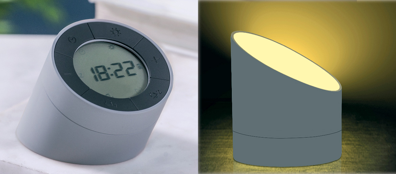 Reloj despertador y punto de luz - comprar online precio 55€ euros