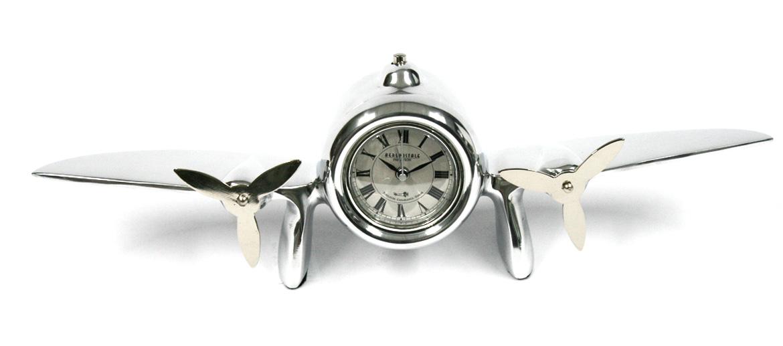 Reloj de sobremesa con forma de avión - comprar online precio 75€ euros