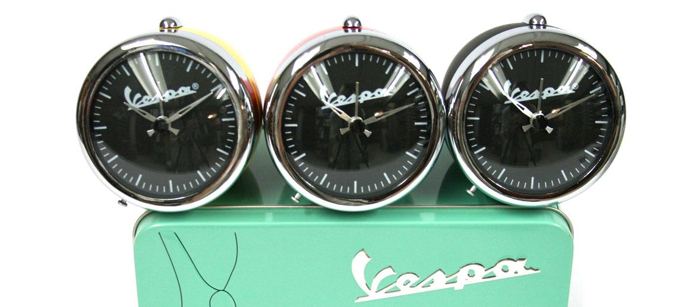 Reloj despertador faro moto Vespa - comprar online precio 36€ euros