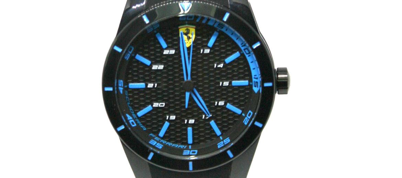 Reloj de pulsera color negro marca Ferrari - comprar online precio 115€ euros