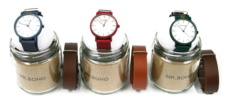 Reloj de pulsera con doble correa ¡dos en uno! - comprar online precio 59€ euros