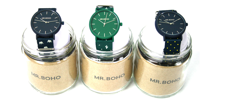 Reloj de pulsera con correa ¡divertida! marca Boho - comprar online precio 59€ euros