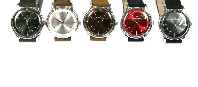 Reloj pulsera plateado correa de piel marca Melbourne - comprar online precio 99€ euros