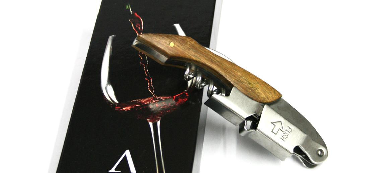 Sacacorchos abridor de vino de dos tiempos - comprar online precio 18€ euros