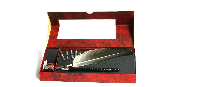 Set de escritura para escribir como antiguamente - comprar online precio 29€ euros