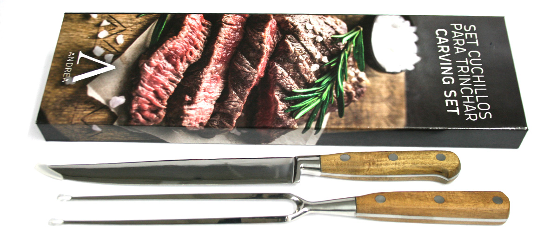 set de trinchar carne para el gran chef de la casa comprar online precio 45€ euros